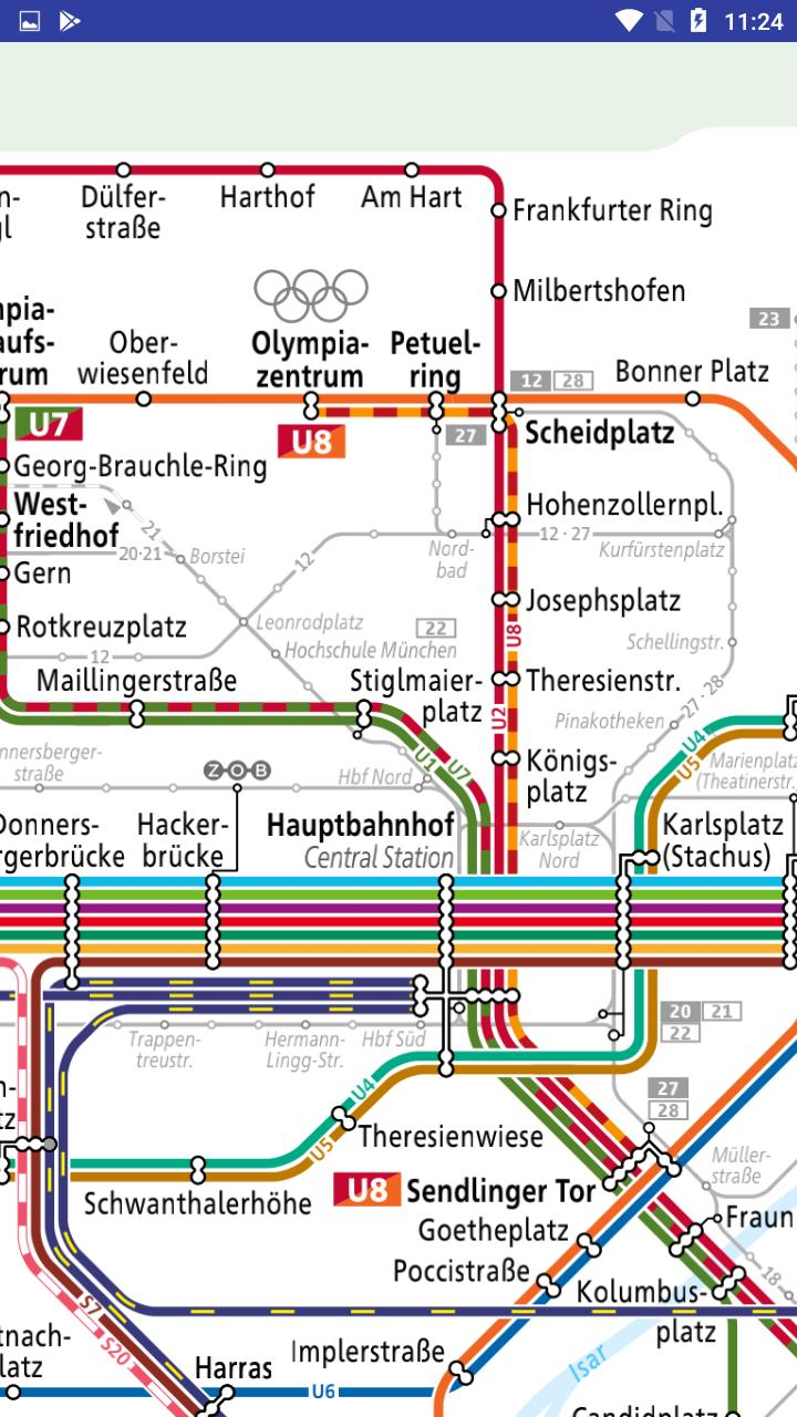 Munchen Deutsche U Bahn Linien Karte For Android Apk Download