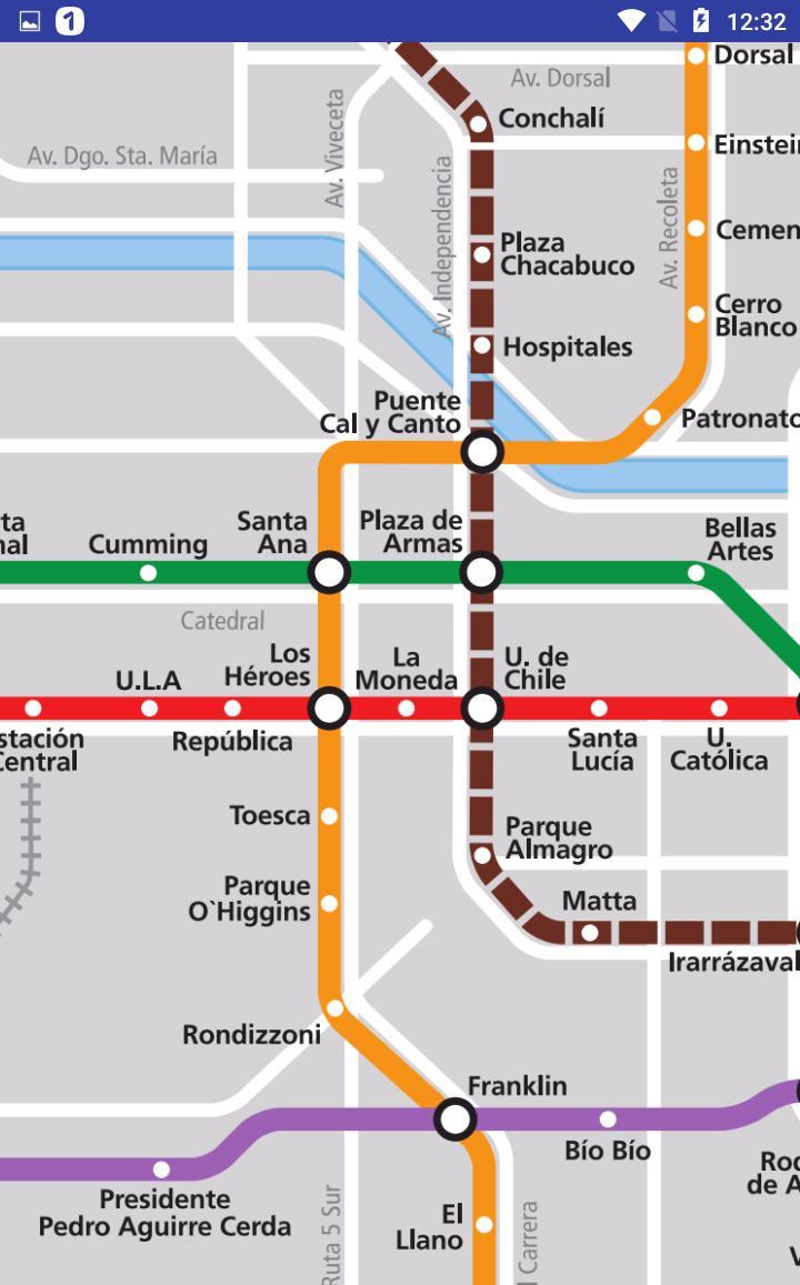 Mapa Del Metro De Santiago Chile Pour Android Telechargez L Apk