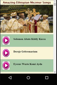Amazing Ethiopian Mezmur Songs & Music poster