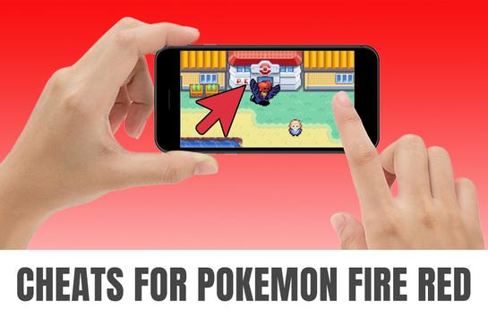 android gameboy pokemon fire red cheats