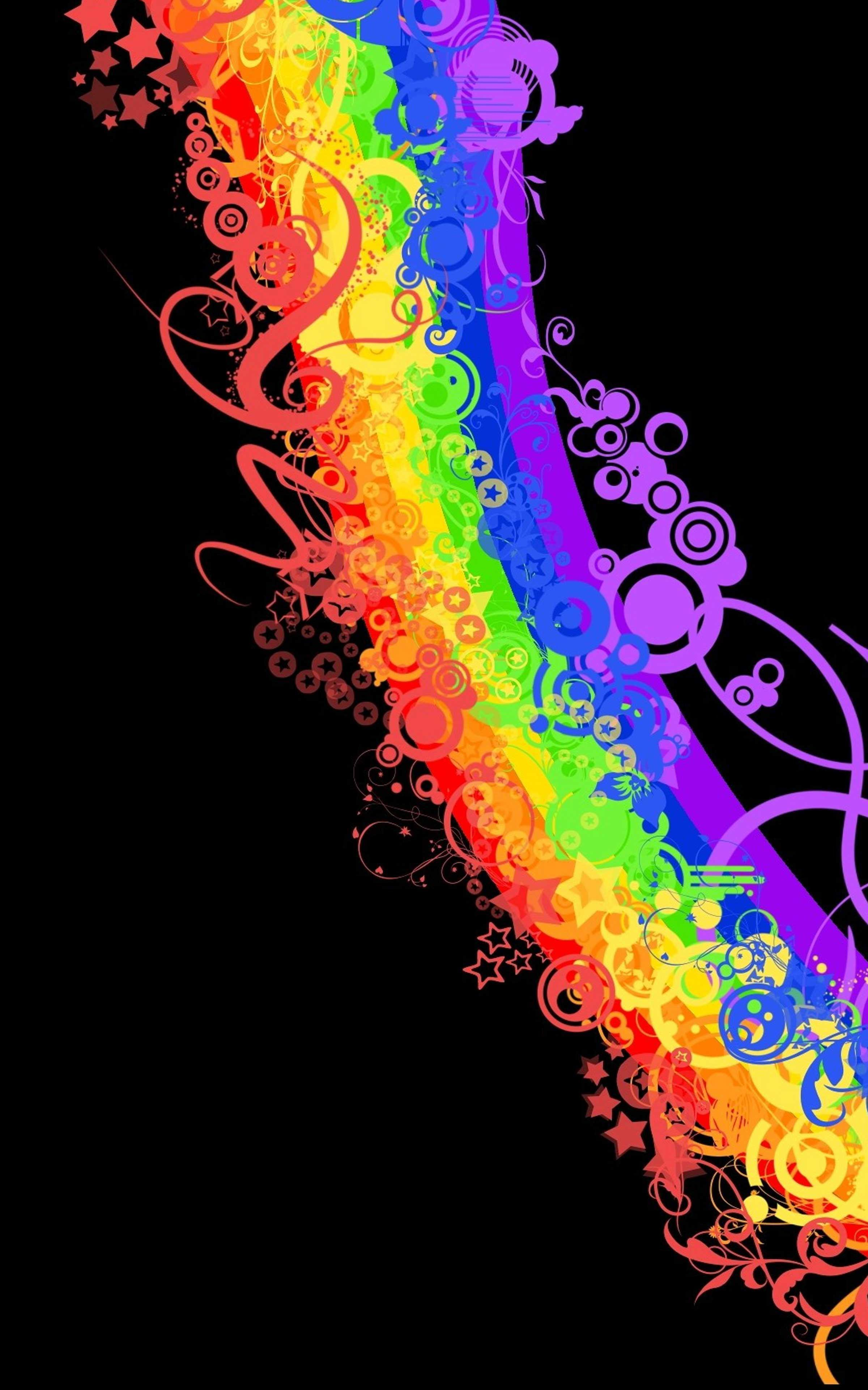Rainbow Wallpaper For Walls Rainbow Wallpapers For Android