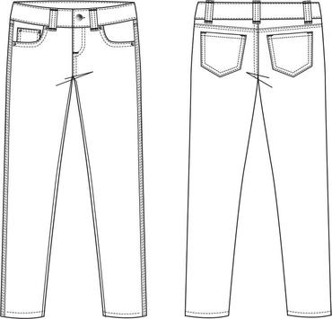 Fashion Design Flat Sketch New apk screenshot