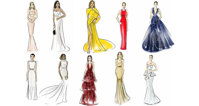 Fashion Design Sketch 2017 poster
