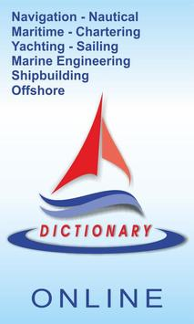 Dictionary of Marine Terms poster