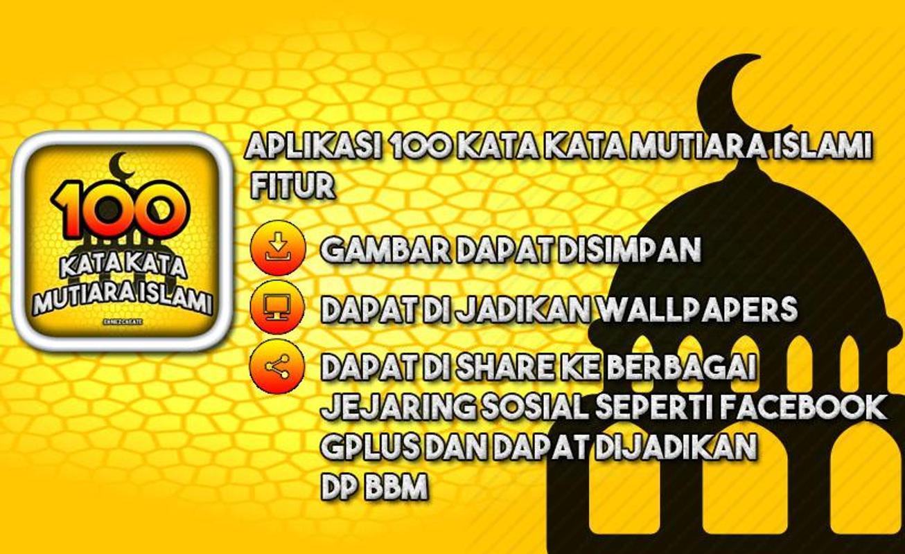 100 Kata Kata Mutiara Islami Fur Android Apk Herunterladen