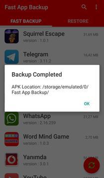 Fast App Backup screenshot 5