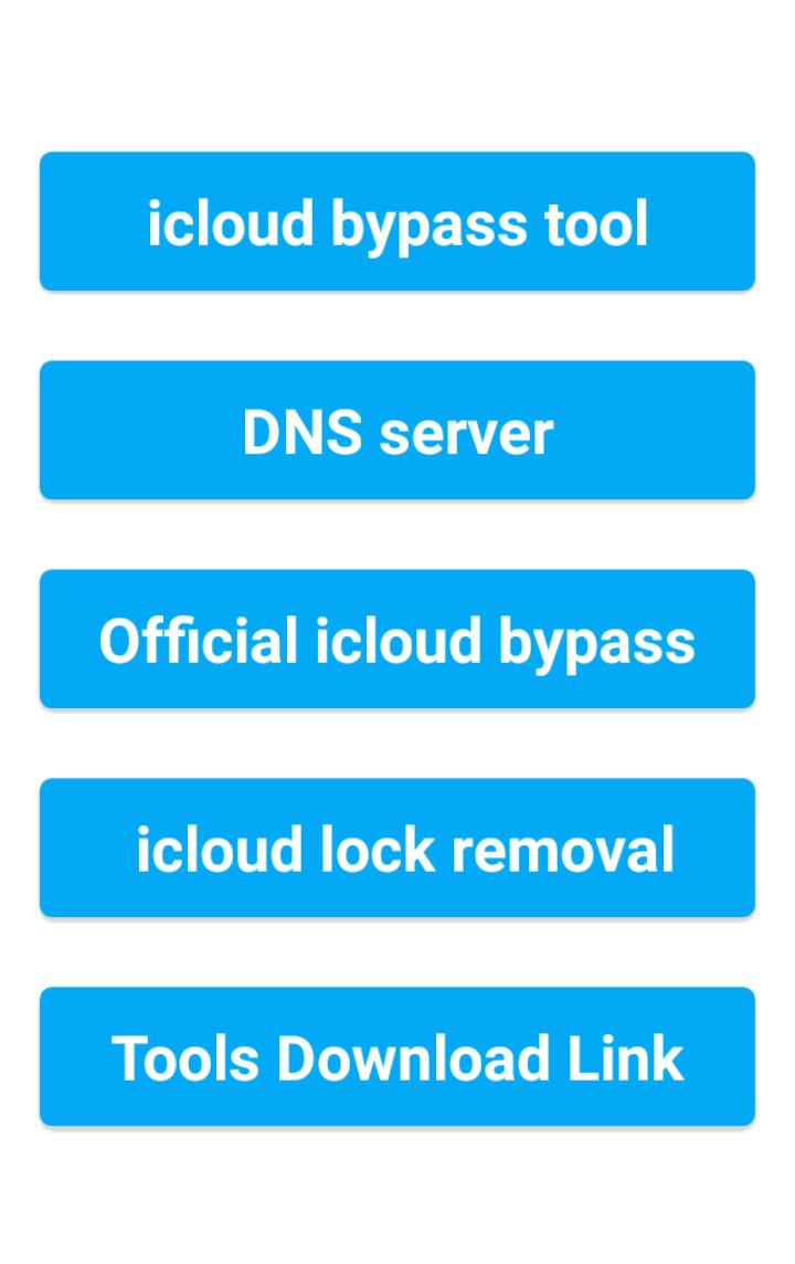Bypass icloud for Android - APK Download