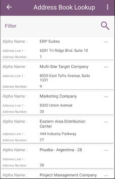 ERP Suites Mobility screenshot 2