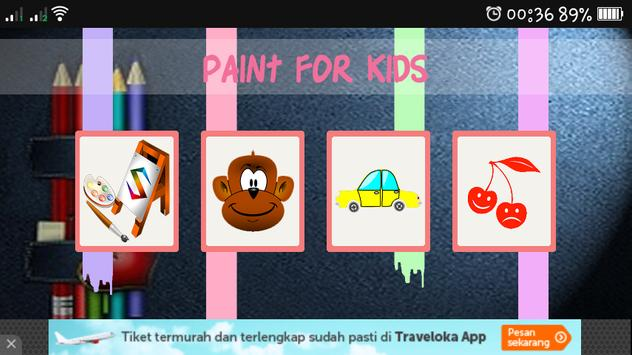 Kids Paint Funny poster