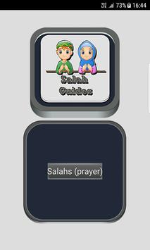 Salah Guides With Pictures All Salahs Prayer poster