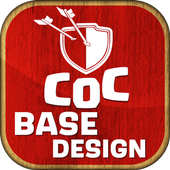 Town Hall Base Design for COC icon