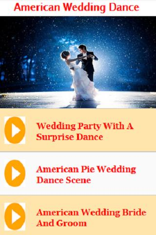 American Wedding Dance Songs And Music For Android Apk