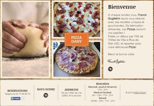 Pizza Dany poster