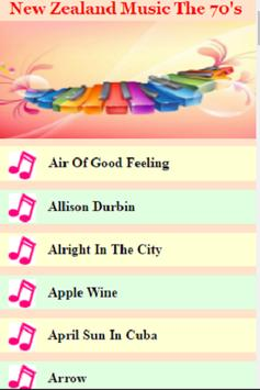 New Zealand Music - 70's apk screenshot