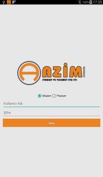 Azim Otomotiv B2B poster