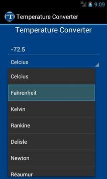 Temperature Converter apk screenshot