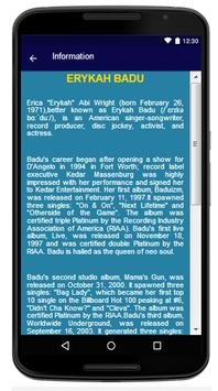 Erykah Badu - Song And Lyrics screenshot 5