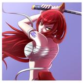 Erza Scarlet Titania Game ⚔️ icon