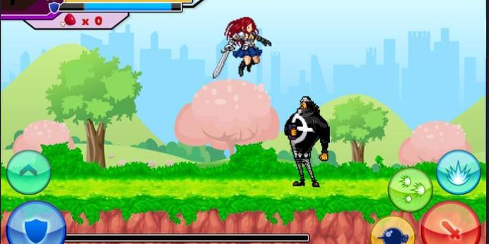 Erza Scarlet Titania Game ⚔️ screenshot 1