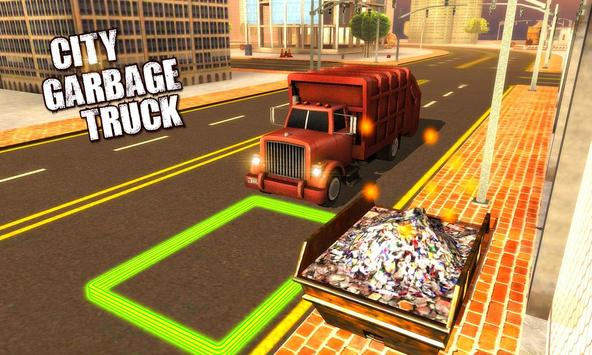 4x4 City Garbage Truck Driver poster