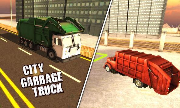 4x4 City Garbage Truck Driver screenshot 1