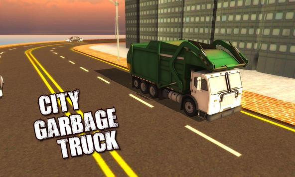 4x4 City Garbage Truck Driver screenshot 4