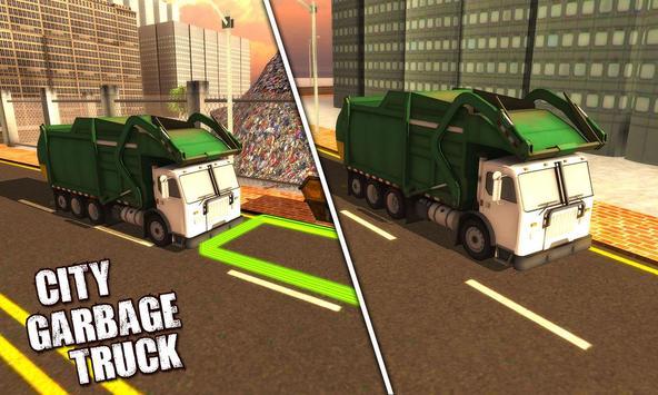 4x4 City Garbage Truck Driver screenshot 8