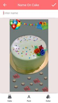 Name on Birthday Cake screenshot 1