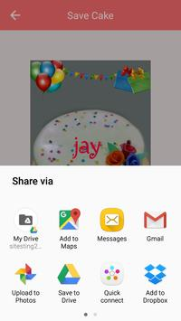 Name on Birthday Cake screenshot 5