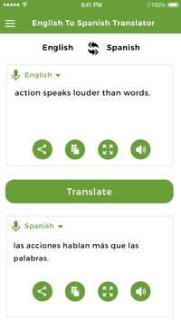 Spanish to English Translator poster
