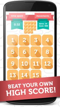 15 Puzzle Brain Game poster