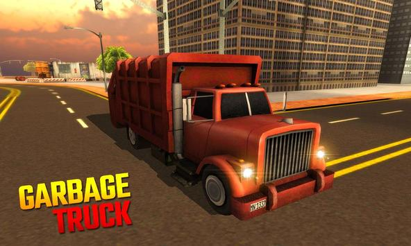Garbage Truck 3D poster