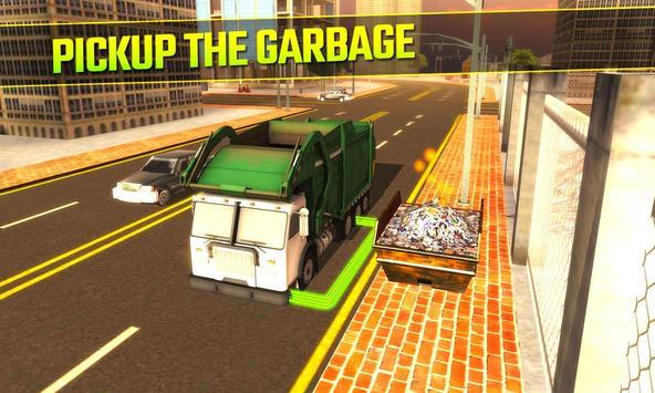 Garbage Truck 3D apk screenshot