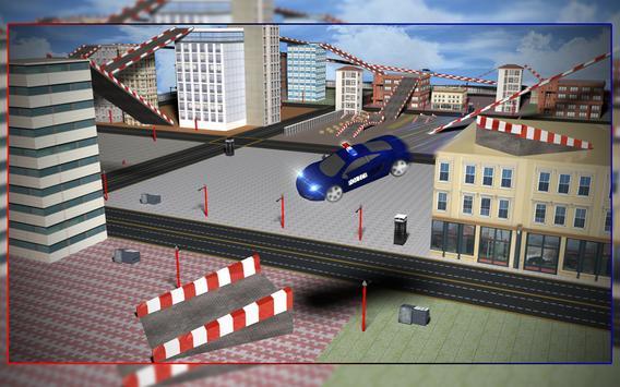 Police car Rooftop training 3d apk screenshot