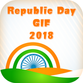Republic Day GIF 2018 icon