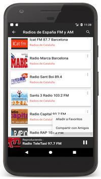 Radio Spain Online FM - Radios Stations Live Free screenshot 5