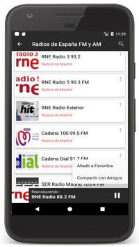 Radio Spain Online FM - Radios Stations Live Free screenshot 6