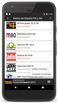 Radio Spain Online FM - Radios Stations Live Free screenshot 7