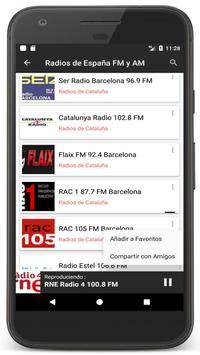 Radio Spain Online FM - Radios Stations Live Free screenshot 12
