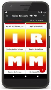 Radio Spain Online FM - Radios Stations Live Free screenshot 16