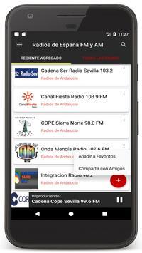 Radio Spain Online FM - Radios Stations Live Free screenshot 18