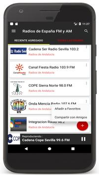 Radio Spain Online FM - Radios Stations Live Free apk screenshot