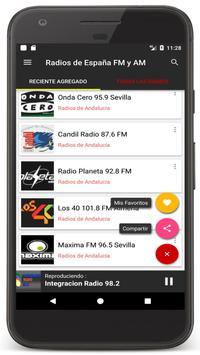 Radio Spain Online FM - Radios Stations Live Free screenshot 19