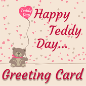 Teddy day Greeting Cards Maker icon