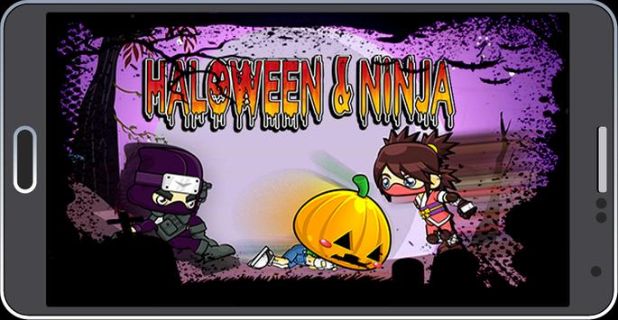 Halloween Ninja poster