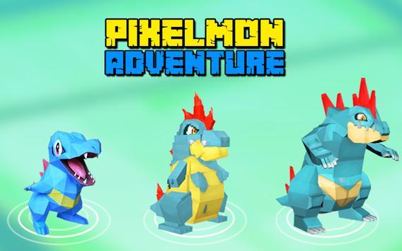 Escape Pixelmon- Adventure poster