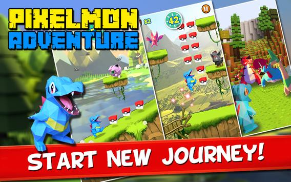 Escape Pixelmon- Adventure apk screenshot