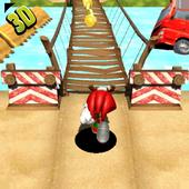 Super Knuckles Sonic Run icon