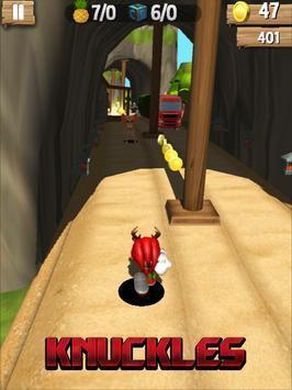 Super Knuckles Sonic Run apk screenshot