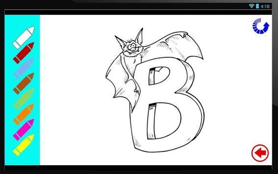 ABC Coloring Book Apk Screenshot